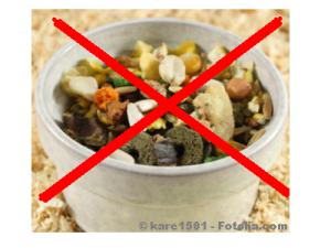 Die ideale Diät für ausschließlich pflanzenfressende kleine Heimtiere